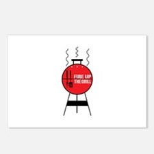 Fire Up The Grill Postcards (Package of 8)