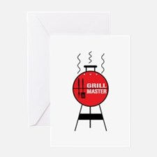 Grill Master Greeting Cards