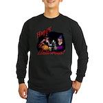 Little Witches Halloween Long Sleeve Dark T-Shirt