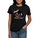 Little Witches Halloween Women's Dark T-Shirt