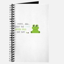 Little Green Frog Journal