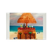 Cute Tiki Rectangle Magnet (10 pack)