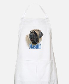 Mastiff(fawn)Name BBQ Apron