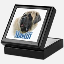 Mastiff(fawn)Name Keepsake Box