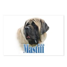 Mastiff(fawn)Name Postcards (Package of 8)