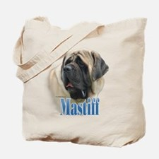 Mastiff(fawn)Name Tote Bag