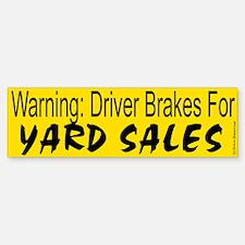 Yard Sale Bumper Bumper Bumper Sticker