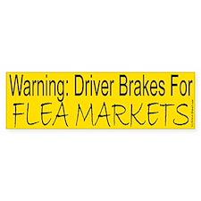 Flea Market Bumper Bumper Sticker