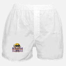 Politics Brain Boxer Shorts