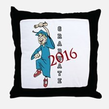 Graduate 2016 Throw Pillow