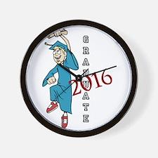 Graduate 2016 Wall Clock