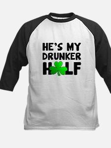 He's My Drunker Half Baseball Jersey