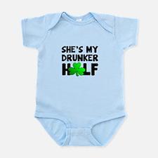 She's My Drunker Half Body Suit
