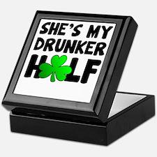 She's My Drunker Half Keepsake Box