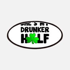 She's My Drunker Half Patch