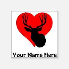 Custom Hunting Heart Sticker