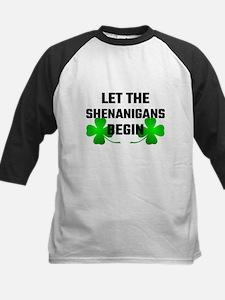 Let The Shananigans Begin Baseball Jersey