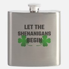 Let The Shananigans Begin Flask