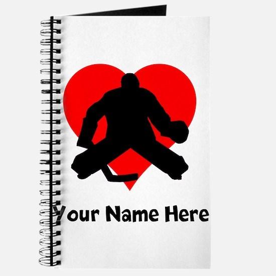 Custom Hockey Heart Journal