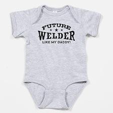 Funny Welder Baby Bodysuit