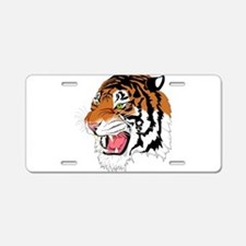 Tiger Aluminum License Plate
