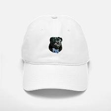 Pug(black)Name Baseball Baseball Cap