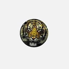 Tiger Mini Button (10 pack)