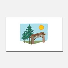Welcome Summer Camp Car Magnet 20 x 12