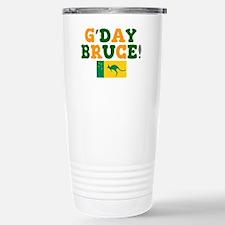 G'DAY BRUCE - AUSTRALIA Travel Mug