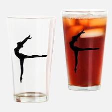 Ballet Ballerina Drinking Glass