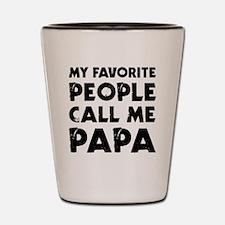 Cool Papa Shot Glass