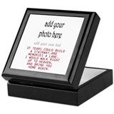 Personalized photo Keepsake Boxes