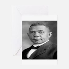 Booker T Washington Greeting Cards