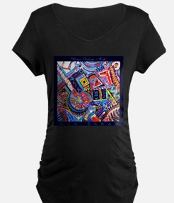 Venue Seating Map Maternity T-Shirt