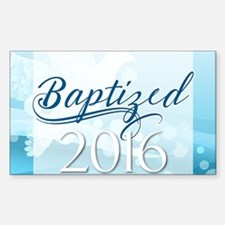 Baptized 2016 Decal