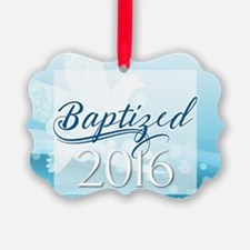 Baptized 2016 Ornament