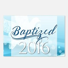 Baptized 2016 Postcards (Package of 8)