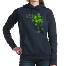 Unique Irish Women's Hooded Sweatshirt