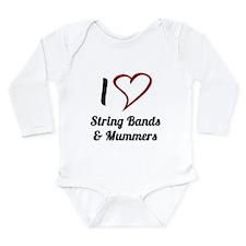 Cool Bands Long Sleeve Infant Bodysuit