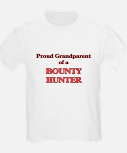 Proud Grandparent of a Bounty Hunter T-Shirt