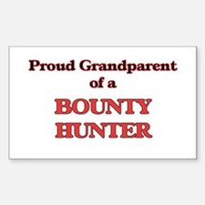 Proud Grandparent of a Bounty Hunter Decal