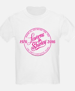 Laverne And Shirley Logo Design T-Shirt