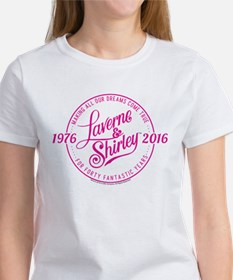 Laverne And Shirley Logo Design Women's T-Shirt