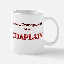 Proud Grandparent of a Chaplain Mugs