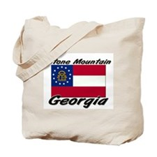Stone Mountain Georgia Tote Bag