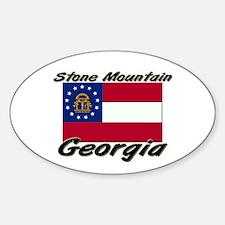 Stone Mountain Georgia Oval Decal