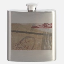 art background Flask