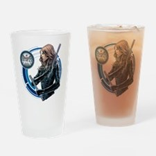 MAOS Mockingbird Drinking Glass