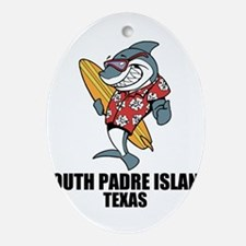 South Padre Island, Texas Oval Ornament
