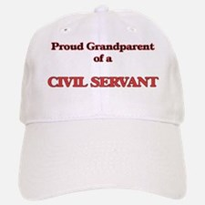 Proud Grandparent of a Civil Servant Baseball Baseball Cap